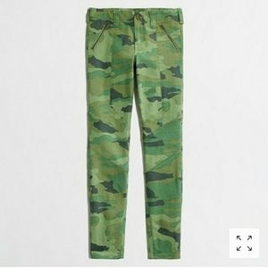 J.crew skinny camo print pant-Sold out everywhere